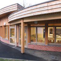 Construction en bois local des Hauts-de-France : le restaurant scolaire de Trélon
